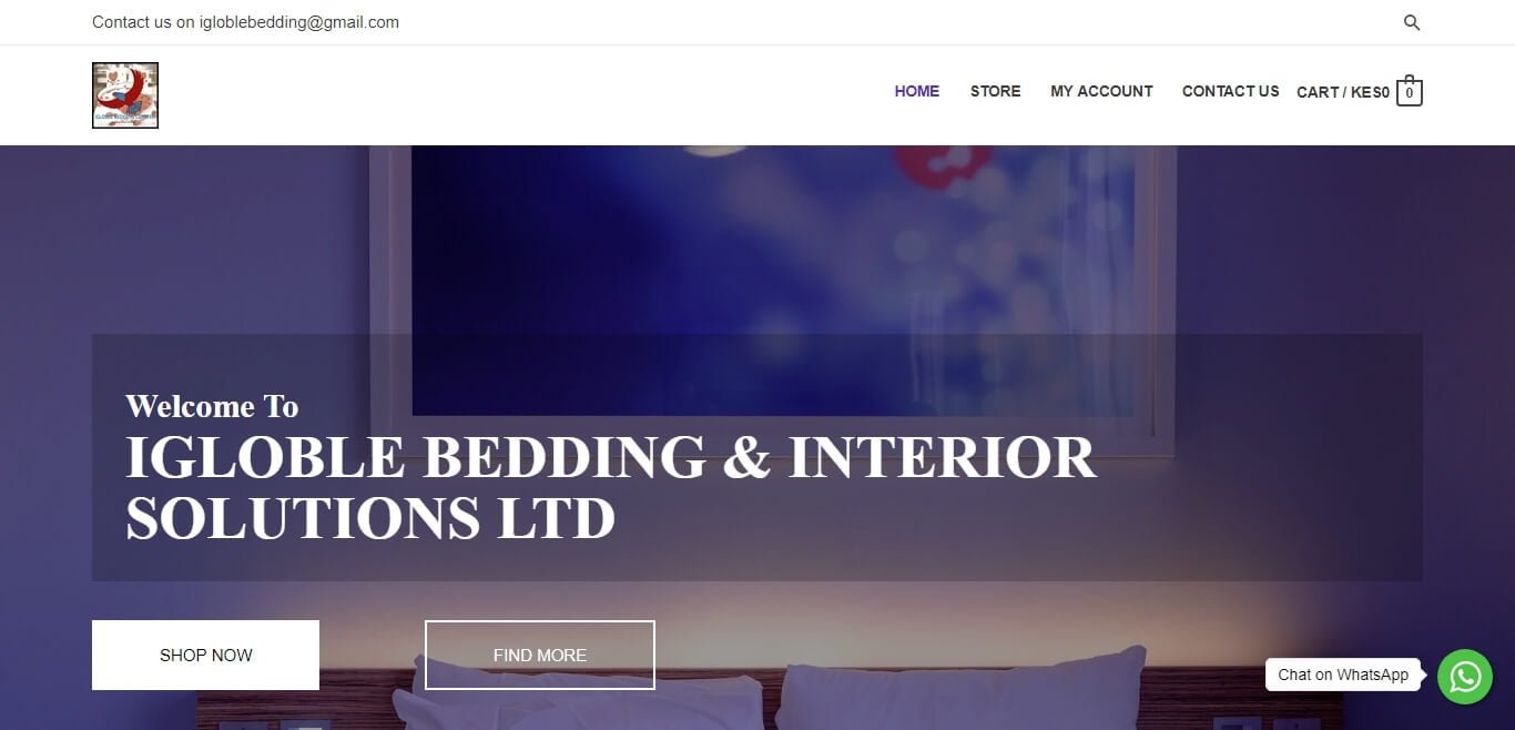 IGLOBLE BEDDING & INTERIOR SOLUTIONS LTD