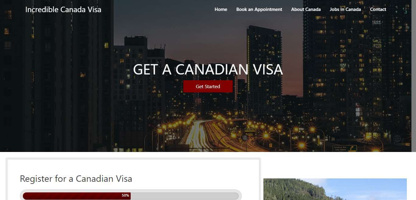 Incredible Canada Visa
