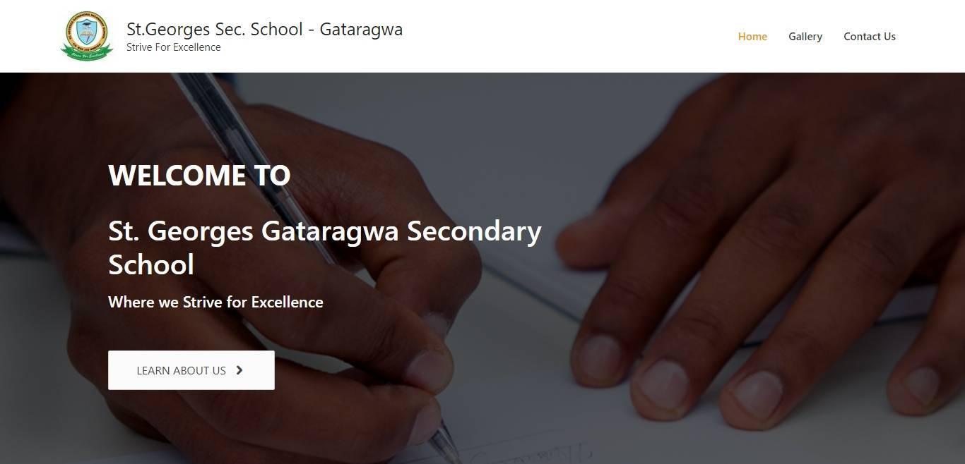 St.Georges Sec. School - Gataragwa